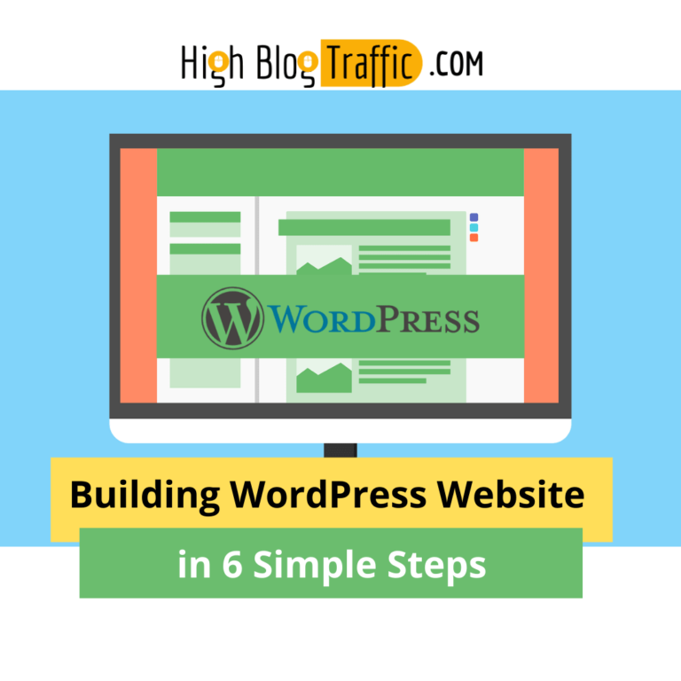 Building WordPress Website in 6 Simple Steps – A Guide for Non-Tech-Savvies