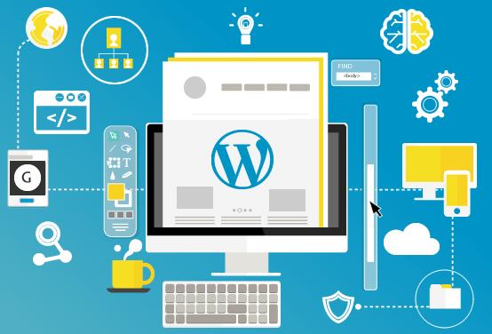 Build websites using wordpress